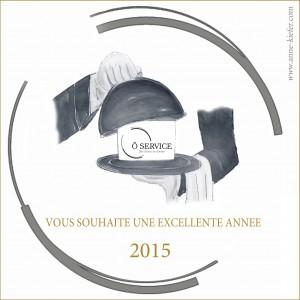 Carte voeux Ô service 2015