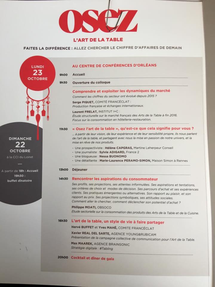 Service de la conf d ration des arts de la table - Confederation des arts de la table ...