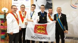 2eme Binôme Gustave Hardy et Dylan Freitas Dos Santos Délégation Normandie Grand Ouest