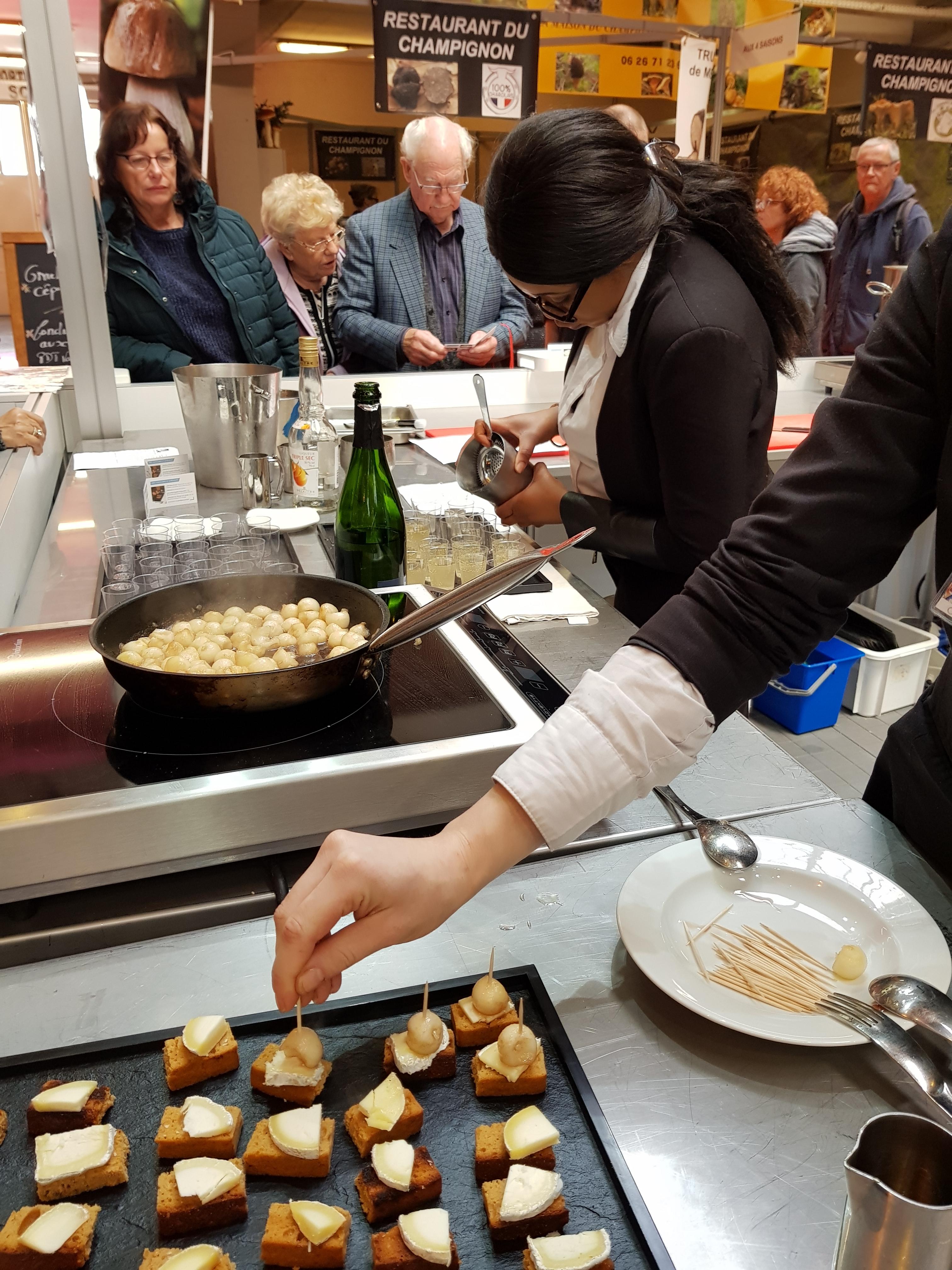 Thierry chusseau professeur de service et for Salon de la gastronomie paris 2017