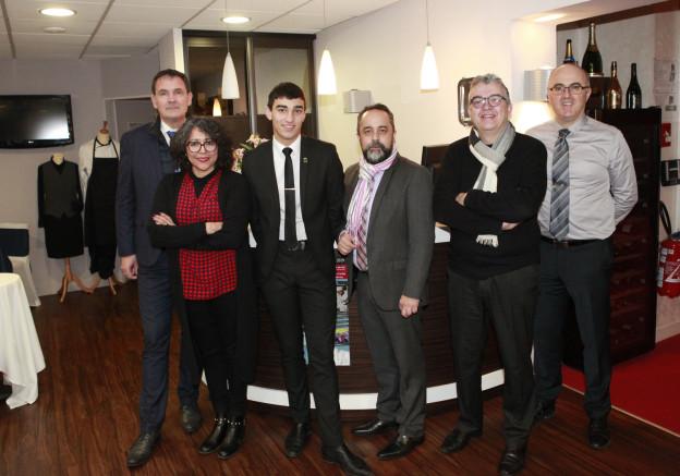 Miguel et quelques professeurs (1)