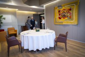 Mardi 21 Mai 2019, est l'occasion pour les services de restauration des salons des très hautes Autorités d'acceuillir, Denis COURTIADE directeur au plaza Athénée, restaurant d'Alain Ducasse, au ministère des Armées à Paris-Balard.